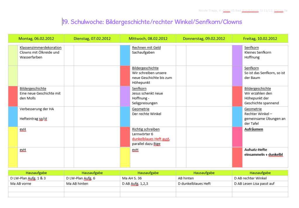 Der Weg zum eigenen Lehrerkalender - Teil 1: Was bisher geschah ...