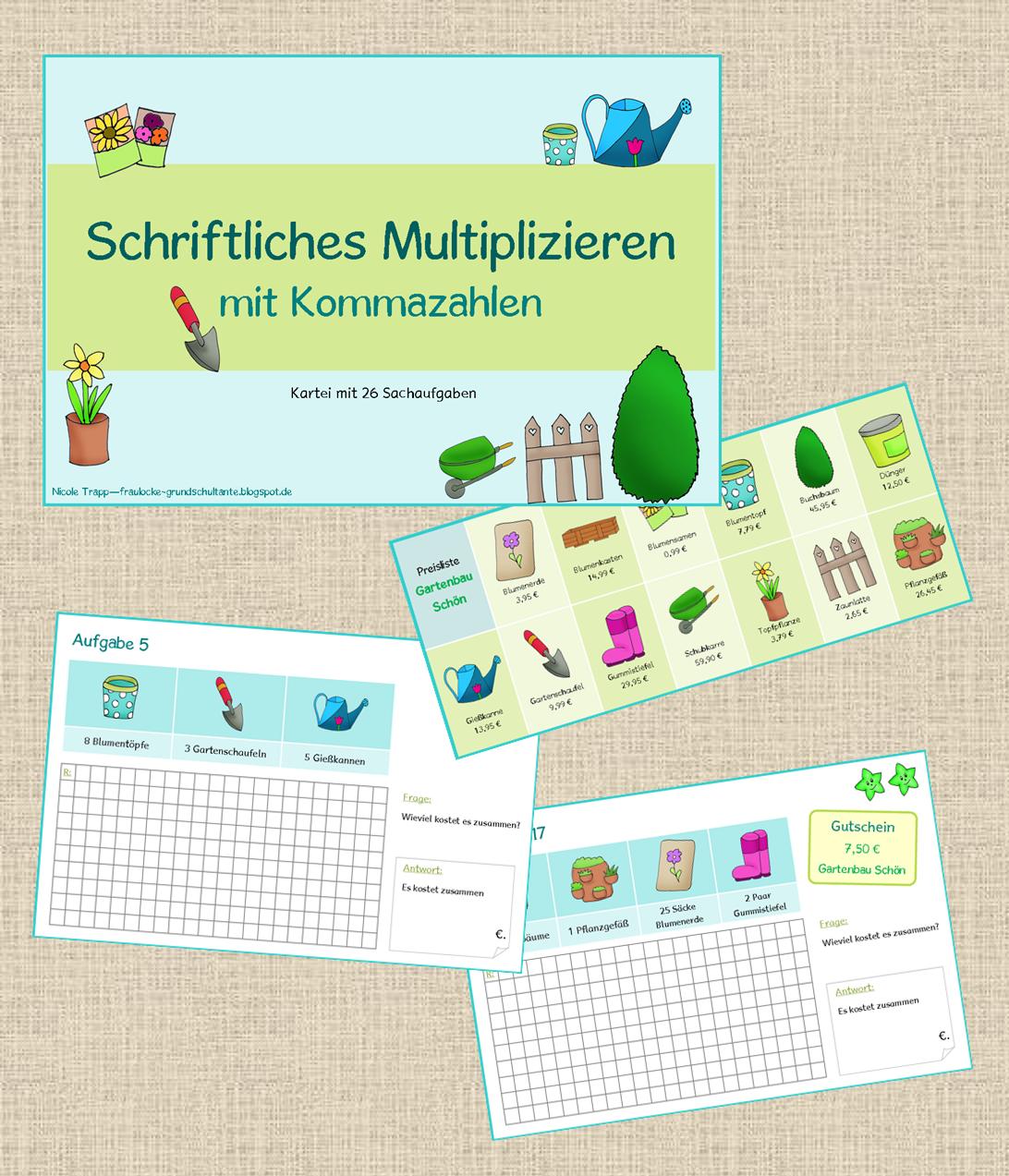Charmant Multiplikation Arbeitsblatt Für 4. Klasse Ideen - Gemischte ...