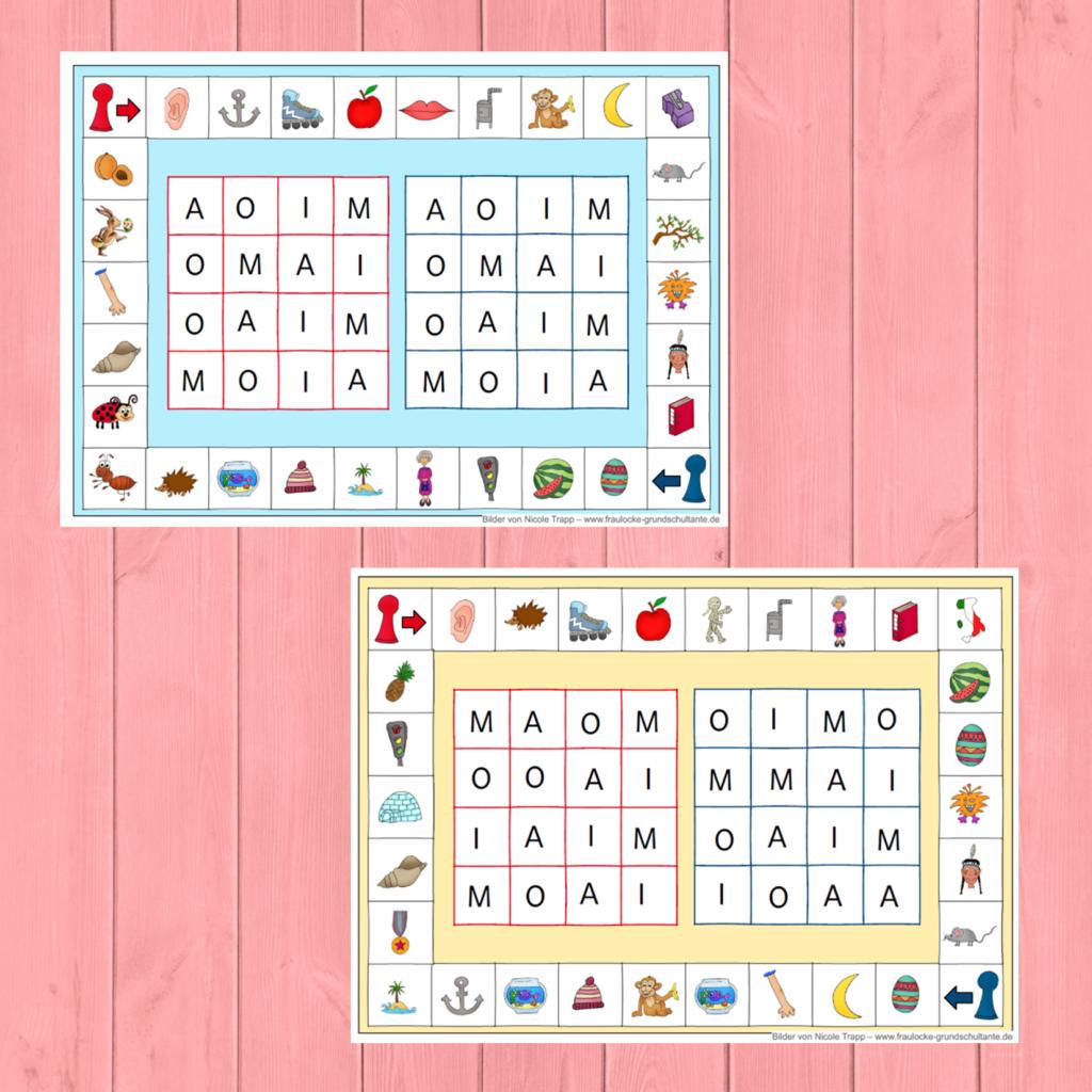 Bingo Spielpläne AMIO   Frau Locke